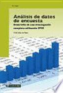 Análisis De Datos De Encuestas