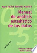 Manual De Análisis Estadísticos De Los Datos