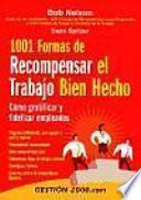 1001 Formas De Recompensar El Trabajo Bien Hecho