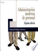 Administración Moderna De Personal