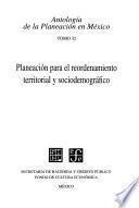 Antología De La Planeación En México, 32