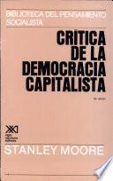 Crítica De La Democracia Capitalista