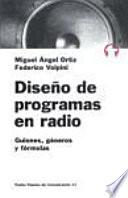 Diseño De Programas En Radio