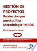 Gestión De Proyectos. Producción Por Puestos Fijos. Metodologia Pmbok