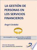 La Gestión De Personas En Los Servicios Financieros