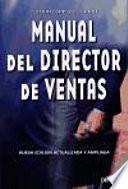 Manual Del Director De Ventas