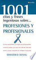 Profesiones Y Profesionales