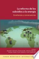 Reforma De Los Subsidios A La Energía