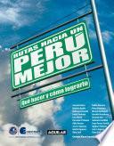 libro Rutas Hacia Un Perú Mejor