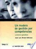 Un Modelo De Gestión Por Competencias