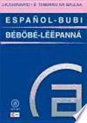 Diccionario Español Bubi / Bubi Español
