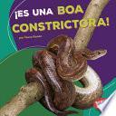¡es Una Boa Constrictora! (it S A Boa Constrictor!)