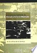 Los Estrenos Teatrales De Manuel Y Antonio Machado En La Crítica De Su Tiempo