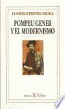 Pompeu Gener Y El Modernismo