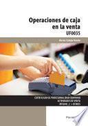 Uf0035   Operaciones De Caja En La Venta