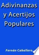Adivinanzas Y Acertijos Populares
