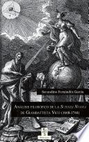 Análisis Filosófico De La  Scienza Nuova  De Giambattista Vico (1668 1744)