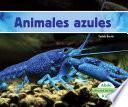 libro Animales Azules (blue Animals)