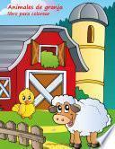 Animales De Granja Libro Para Colorear 1