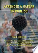 libro Aprender A Hablar En Público