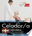 libro Celador. Servicio Vasco De Salud Osakidetza. Test