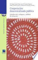 Cooperación Descentralizada Pública. Introducción, Enfoques Y ámbitos De Actuación