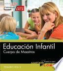 Cuerpo De Maestros. Educación Infantil. Temario. Vol.ii