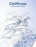 Delfines Libro Para Colorear Para Adultos 1