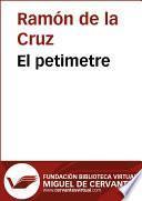 libro El Petimetre