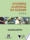Encuesta Nacional De Empleo 2000. Aguascalientes