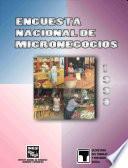 Encuesta Nacional De Micronegocios 1998