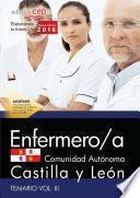 Enfermero/a De La Administración De La Comunidad De Castilla Y León. Temario Vol. Iii.