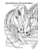 Garabatos De Animales Libro Para Colorear Para Adultos 1