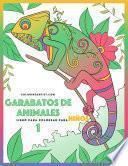 Garabatos De Animales Libro Para Colorear Para Niños 1