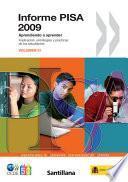 libro Informe Pisa 2009: Aprendiendo A Aprender Implicación, Estrategias Y Prácticas De Los Estudiantes (volumen Iii)