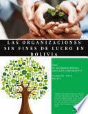 Las Organizaciones Sin Fines De Lucro En Bolivia