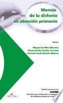 libro Manejo De La Disfonía En Atención Primaria