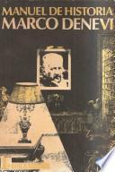 libro Manuel De Historia