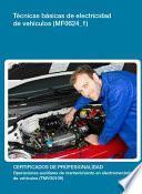 Mf0624_1   Técnicas Básicas De Electricidad De Vehículos