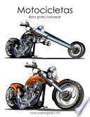 Motocicletas Libro Para Colorear 1