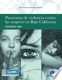 libro Panorama De Violencia Contra Las Mujeres En Baja California. Endireh 2011