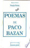 Poemas De Paco Bazán