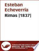 libro Rimas [1837]