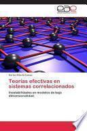Teorías Efectivas En Sistemas Correlacionados