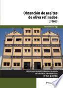 Uf1085   Obtención De Aceites De Oliva Refinados
