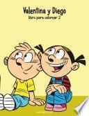 Valentina Y Diego Libro Para Colorear 2