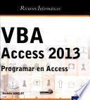 Vba Access 2013