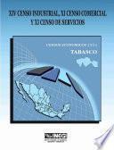 Xiv Censo Industrial, Xi Censo Comercial Y Xi Censo De Servicios. Censos Económicos, 1994. Tabasco