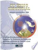 Xv Censo Industrial. Censos Económicos 1999. Industrias Manufactureras Subsector 35. Producción De Sustancias Químicas Y Artículos De Plástico O Hule. Productos Y Materias Primas