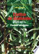 libro Cántico De Disolución (1973 2011). Poemas Escogidos